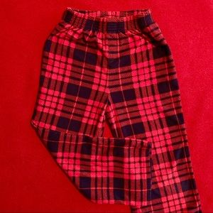 GAP plaid flannel pajama pants